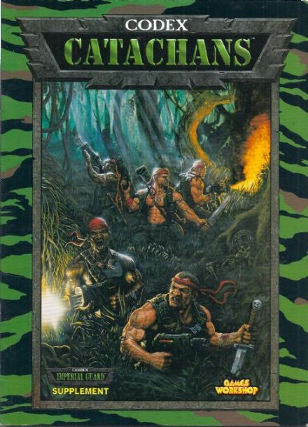 Catachans Catachan Jungle Fighters Codex rulebook rule book (2000 edition) A4 paperback
